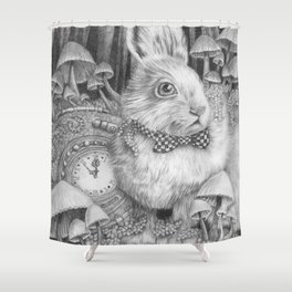 Always Late to the Party Shower Curtain