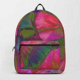 Flowers Are Music Backpack