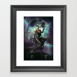 Missing sequences Framed Art Print