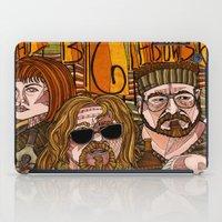 lebowski iPad Cases featuring The Big Lebowski by David Amblard