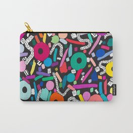 CIRCLES IN MOTION - colour bomb Carry-All Pouch