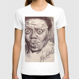 Bernie Mac Portrait T-shirt
