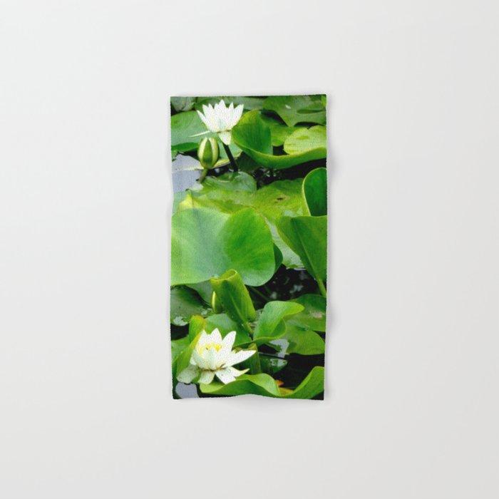 Waterlily #2 Hand & Bath Towel