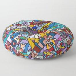 Hello-Goodbye-Peace Floor Pillow