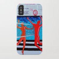 sport iPhone & iPod Cases featuring sport life by Katarina Radenkovic