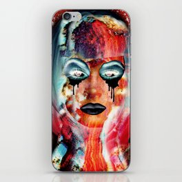 Radiation Girl iPhone Skin