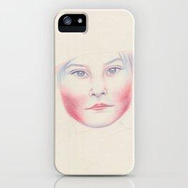 Niña andina iPhone Case