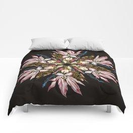 Flemish Floral Mandala Comforters