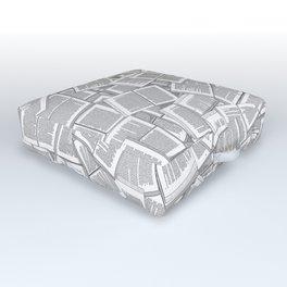 Literary Overload Outdoor Floor Cushion
