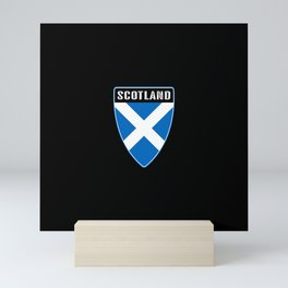 Scotland Shield Mini Art Print