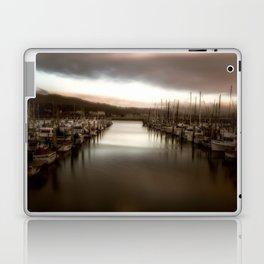 Unbalanced Half Moon Bay California Laptop & iPad Skin