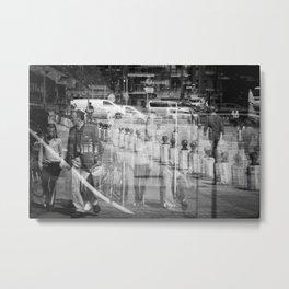 Reflecting I Metal Print