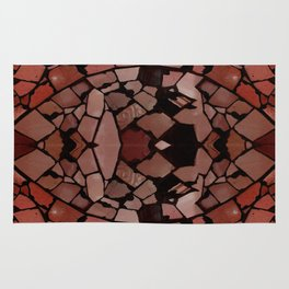Mosaic - Red Ruby Rug