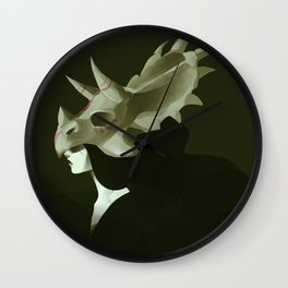 Dinosaur Helmet Wall Clock