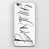 bonjour iPhone & iPod Skins featuring Bonjour! by Stephanie Fishwick