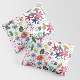 """The earth laughs in flowers"" Pillow Sham"