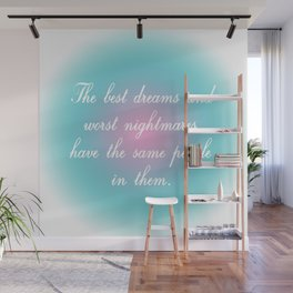 Best Dreams Wall Mural