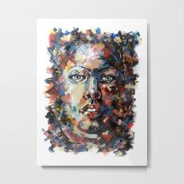 Reinsertion Metal Print