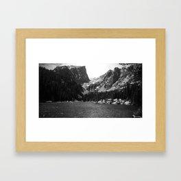 Dream Lake, Rocky Mountains, CO Framed Art Print