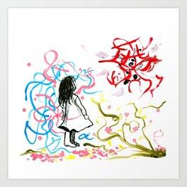 devil & a. Art Print