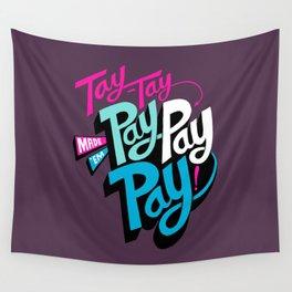 Tay-Tay Vs Apple Wall Tapestry