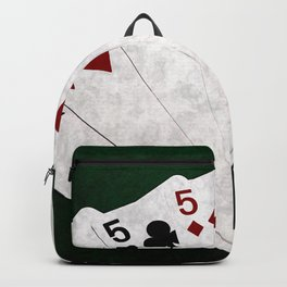 Poker Four Of A Kind Five Eight Backpack