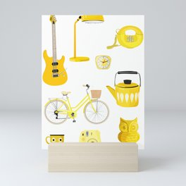 Yellow Collection Mini Art Print