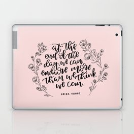 INSPIRATION FROM THE LADY WITH THE FAB EYEBROWS Laptop & iPad Skin