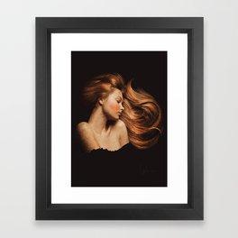 Sleeping Beauty / La Belle Au Bois Dormant Framed Art Print