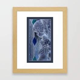 A Cherub's Kiss Framed Art Print