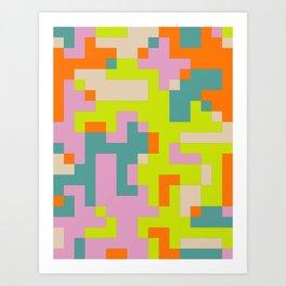 pixel 002 03 Art Print