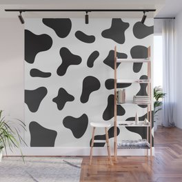 Cow Skin Texture Pattern Wall Mural