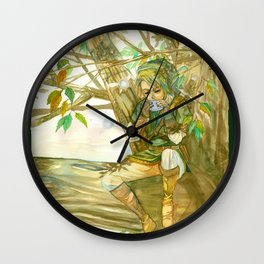 Link on tree Wall Clock