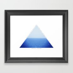 Always Be Like The Water Framed Art Print