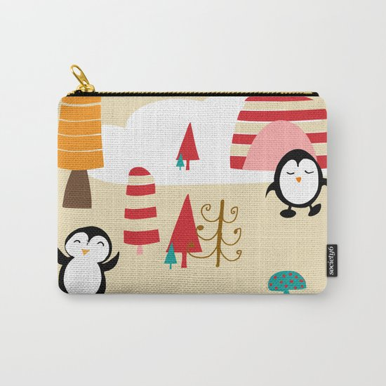 Oriana Penguin Carry-All Pouch
