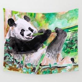 Panda lovin' Wall Tapestry