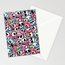 Skullz Stationery Cards