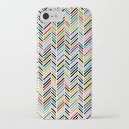 Herringbone Colour #2 iPhone Case