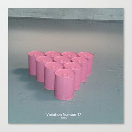 Variation Number 17 (photo) Canvas Print