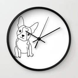 Boston Terrier Wall Clock