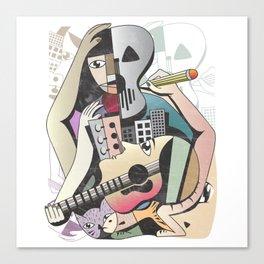 Musika Artem Vitae Canvas Print