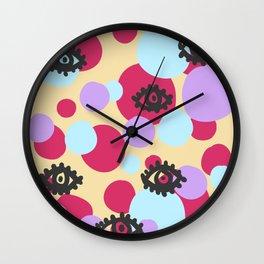 eyes of imagination Wall Clock