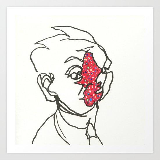 Egon Schiele Art Print