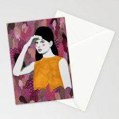 Dalila at night Stationery Cards