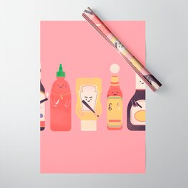 Ex-Condiments Wrapping Paper