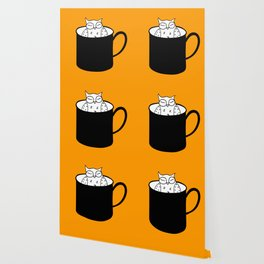 Owl have anoter cup, coffee poster Wallpaper