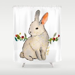 Cruelty Free Bunny Shower Curtain