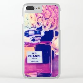 CHANELNo. 5 in Color Clear iPhone Case