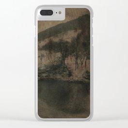 Raul Iza Clear iPhone Case