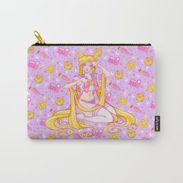 Usagi's Items Pattern - Pinup Version / Sailor Moon Carry-All Pouch